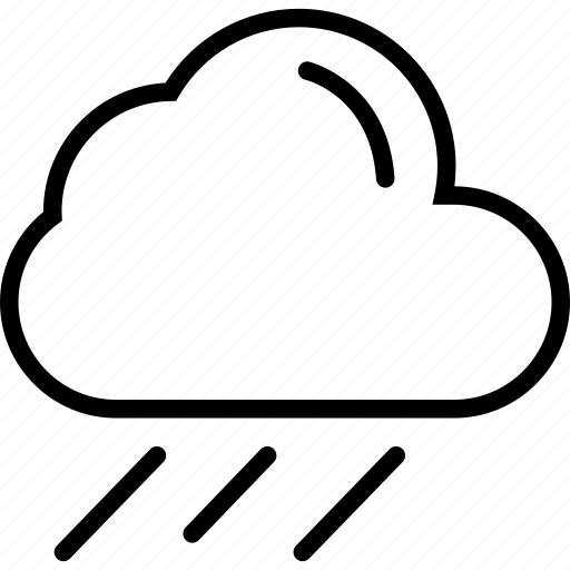 cloud, clouds, cloudy, rain icon