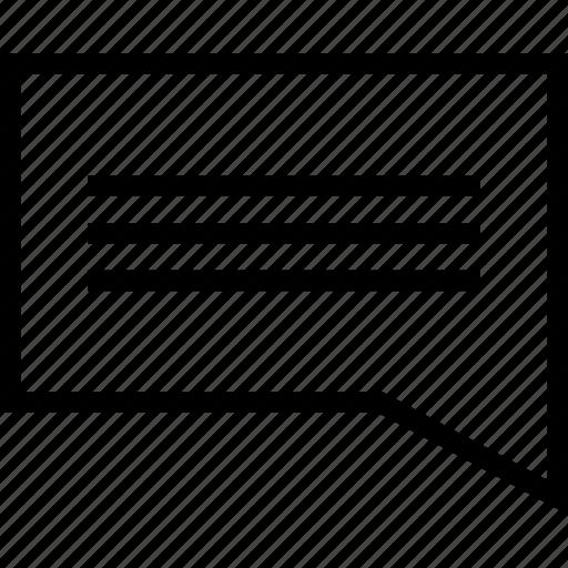 bubble, chat, comment, comments, communicatiion, message, speech, talk, text icon