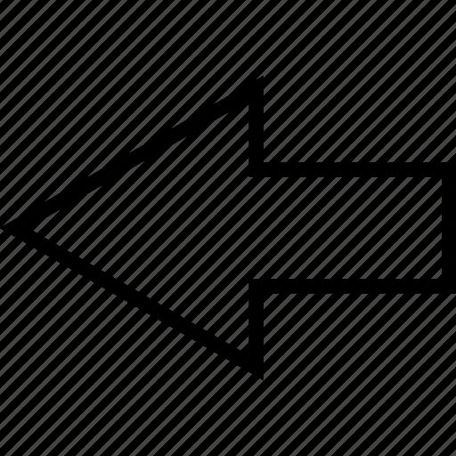 align, arrow, arrows, back, left, move icon