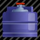 cylinder, water, gas, oxygen, sport, food icon