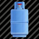 house, cylinder, gas, medical, storage icon