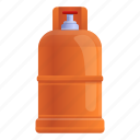 house, cylinder, compressed, water, gas, valve icon