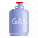 house, cylinder, money, industrial, gas, food icon