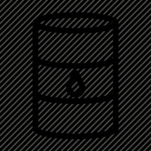 barrel, oil, trunk icon