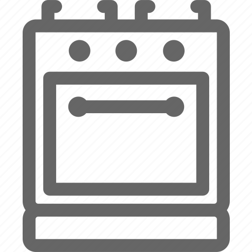 burner, fuel, household, kitchen, oven, stove icon