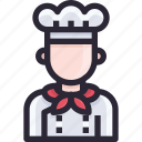 avatar, cook, cooking, pan icon