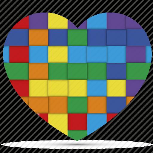 couple, gay, heart, homosexual, love, rainbow, valentine icon