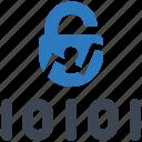 access, breach, data icon