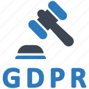 gdpr, law, rules icon