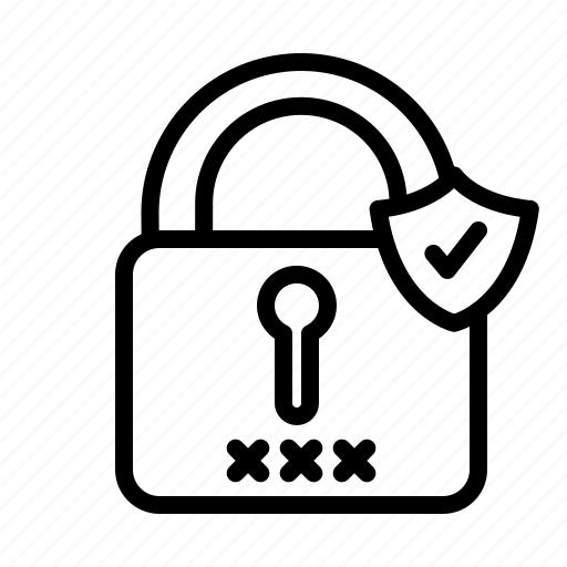 data, information, locker, personal, security icon