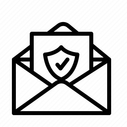 data, information, mail, personal, security icon