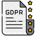 gdpr, policy, protection, shield icon