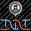 data, database, genetic, storage icon