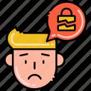 breach, data, file, personal icon