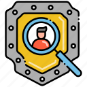 assessment, impact, privacy, protection icon