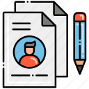 policy, privacy, security, template icon