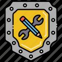 by, creative, design, privacy icon