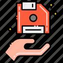 Finger Gesture Hand Recipient Icon