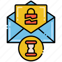 bell, breach, notification, timely icon