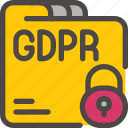 browser, eu, gdpr, internet, padlock, secure, security icon icon