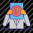 anonymity, identity, pseudonymisation icon