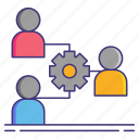party, third, users icon