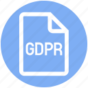 document, file, gdpr, page, protection, secure, security