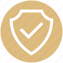 accept, complete, ok, safe, safety, security, shield