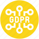 data, eu, gdpr, network, secure, security icon
