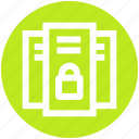 gdpr, lock, locked, network, privacy, protection icon