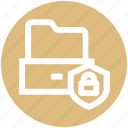 files, folder, gdpr, lock, privacy, security, shield