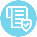 accept, document, gdpr, page, paper, protection, shield