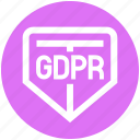 gdpr, general data protection regulation, protect, secure, security, shield