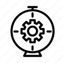 cogwheel, preference, gear, setting, configure icon