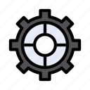 wheel, preference, gear, setting, cogs