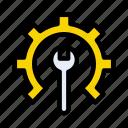 cogwheel, maintenance, repair, fix, setting