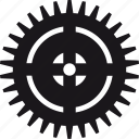 detail, gear, tool, work icon