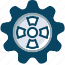 cog, engineering, gears, mechanism, options, setup, yumminky icon