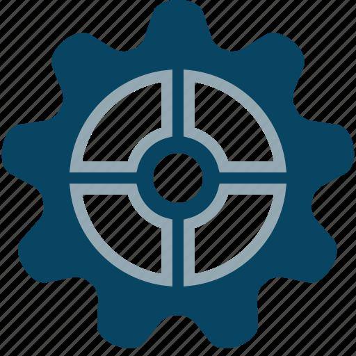 cog, engineering, gears, mechanism, options, setup, yumminky icon
