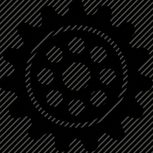 cog, gears, mechanism, options, setup, wheel, yumminky icon