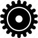 cog, gears, mechanism, options, setup, wheel, yumminky icon