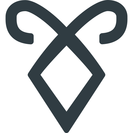 instruments, logo, mortal, movie, rune icon