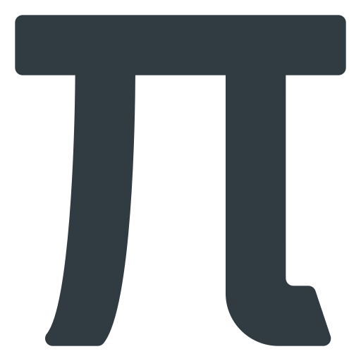 math, mathematics, pi icon