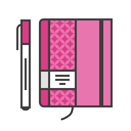 compose, diary, marker, note, notepad, pen, write icon
