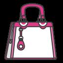 case, accessory, woman, bag, pouch icon