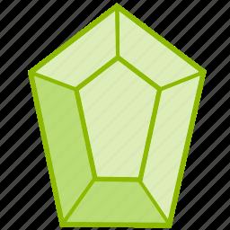accesory, crystal, gem, jewel, jewelry, shapes icon