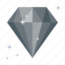 adamant, diamond, fossil, galleris, inorganic, jewel, spinel icon