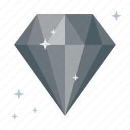 adamant, diamond, fossil, galleris, inorganic, jewel, spinel icon