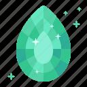beryl, diamond, earrings, emerald, gas, mineral, ore