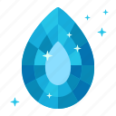 clean, clear, drop, purity, sapphire, tear, water